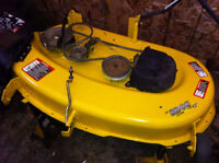 "JOHN DEERE LAWN TRACTOR 42"" DECK WANTED"