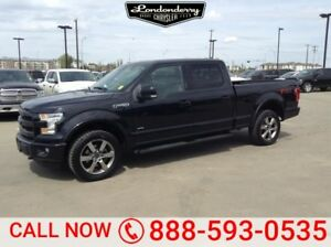 2015 Ford F-150 4WD SUPERCREW FX4 Accident Free,  Navigation (GP