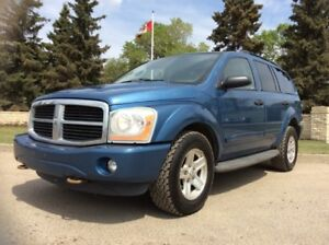 2005 Dodge Durango, SLT-PKG, AUTO, AWD, LEATHER, 8/PASS, 164K