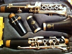 SELMER PROLOGUE CLARINET COMPLETE , USED BUT PERFECT CONDITION