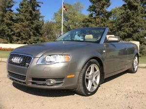 2008 Audi A4, 2.0T, AUTO, CABRIOLET, QUATTRO, ONLY 150K