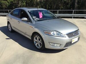2008 Ford Mondeo MA TDCi Silver 6 Speed Automatic Hatchback Morayfield Caboolture Area Preview