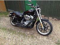 Superlow 883 XL, 2700 miles from new, mini condition