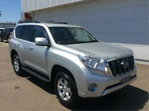 2015 Toyota Landcruiser Prado KDJ150R MY14 GXL Silver 5 Speed Sports Automatic Wagon Cardiff Lake Macquarie Area Preview