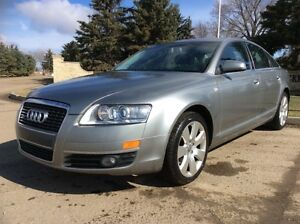 2006 Audi A6, AUTO, AWD, LEATHER, ROOF, 168K, $8,500