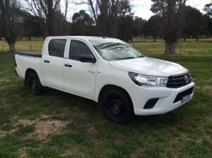 2018 Toyota Hilux WORKMATE Yass Yass Valley Preview