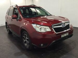 2013 Subaru Forester S4 MY13 2.0D-S AWD Red 6 Speed Manual Wagon Cardiff Lake Macquarie Area Preview