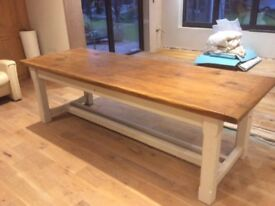 Reclaimed Refectory Dining/KitchenTable 8 x 6 x 3
