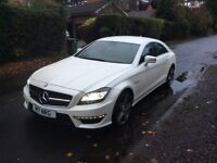 MERCEDES-BENZ CLS 5.5 CLS63 AMG 4DR AUTOMATIC (white) 2012