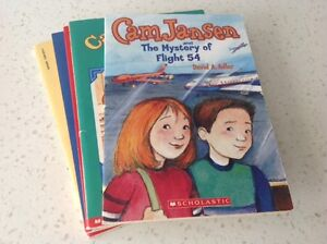 """5 YOUNG ADULT """"CAM JANSEN"""" SOFT COVER BOOKS~$1.99 EACH"""