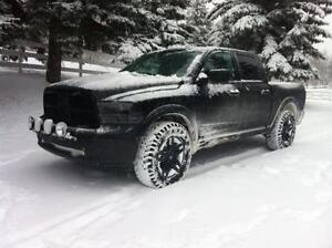 """2002-2017 Dodge Ram New Snow Tire Package - P265/70/17 Winter Tires on 17"""" steel rims Installed and Balanced"""