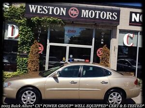 2005 Buick Allure CX* POWER GROUP* WELL EQUIPPED* DEALER MAINTAI