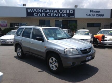 2005 Mazda Tribute Classic Silver 4 Speed Automatic 4x4 Wagon Wangara Wanneroo Area Preview