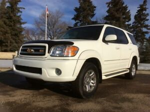2004 Toyota Sequoia, LIMITED-PKG, AUTO, AWD, LEATHER, ROOF
