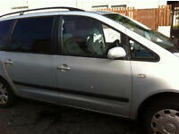 Seat ALHAMBRA 10 MOT - Excellent Engine with New Clutch and Flywheel