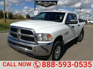 2016 Ram 3500 4WD CREWCAB SLT Diesel,  Accident Free,  Leather,