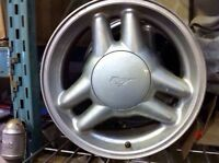 """Ford mustang wheels 17"""" 5 bolt wheels great for winter rims"""