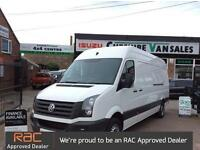 2013 13 VOLKSWAGEN CRAFTER 2.0 CR35 TDI LWB 109 BHP FSH CHOICE IN STOCK DIESEL