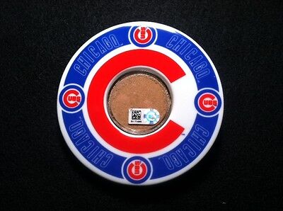 Chicago Cubs World Series Champions 2016  Wrigley Field Game Used Dirt Historic