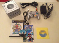 Gamecube + manette originale + sonic+SuperMario - 80$