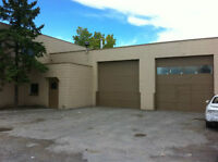 For Rent 415 Monument Place SE - Office + Garage Bays + Yard