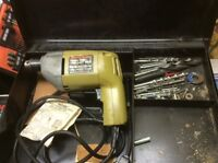 DRILLS WITH METAL CARRY CASE FOR SALE