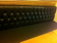 Seating for shop barbers , bars waiting area