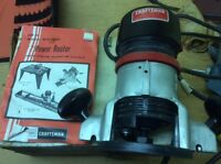 CRAFTSMAN POWER ROUTER FOR SALE