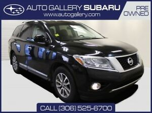 2014 Nissan Pathfinder SL |BLACK ON BLACK LEATHER | PST PAID