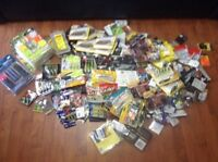 Lot of fishing tackle