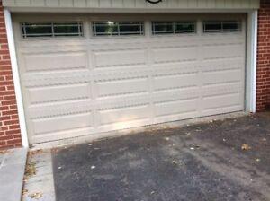 Garage Door - 15 x 7 - 2 Years New