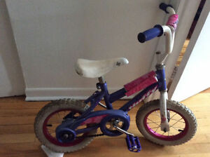 Velo huffy pour fille 14 pouces
