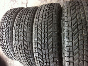 205/60/R16,Firestone Winterforce Tires With Steel Rims 98%