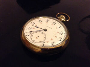 Rare Antique Zenith pocket watch . works perfectly