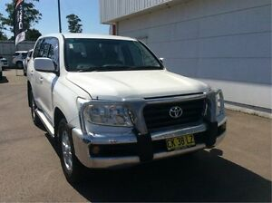2007 Toyota Landcruiser VDJ200R GXL White 6 Speed Sports Automatic Wagon Cardiff Lake Macquarie Area Preview