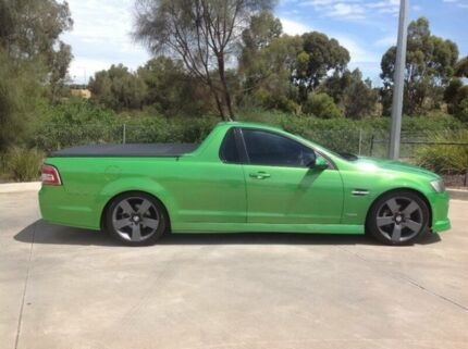 2009 Holden Commodore VE MY09.5 SV6 Green 6 Speed Manual Utility Laverton Wyndham Area Preview