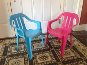 Child's Patio Chairs