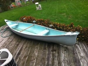 16` Fiberglass canoe $250 or best offer