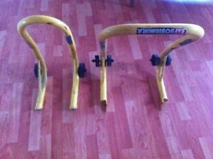 Set of Motorcycle Stands