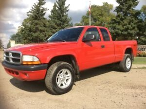 2004 Dodge Dakota, SPORT, AUTO, 4X4, LOADED, 175K, $6,000