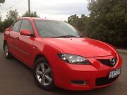 2008 Mazda 3 BK MY06 Upgrade Neo Red 4 Speed Auto Activematic Sedan Hoppers Crossing Wyndham Area Preview