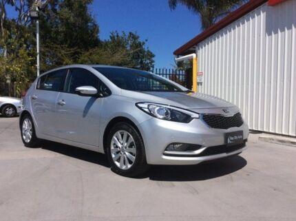 2014 Kia Cerato YD MY15 S Premium Silver 6 Speed Auto Seq Sportshift Hatchback Pialba Fraser Coast Preview