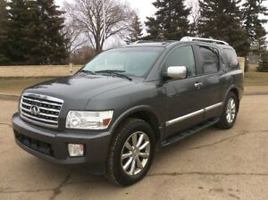 2008 infiniti QX56, 8pass, AUTO, 4X4, LEATHER, ROOF, $12,500