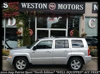 2010 Jeep Patriot North Edition*NO CREDIT CHECK-100% APPROVED!