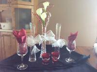 Articles d décorations pour mariage ou party
