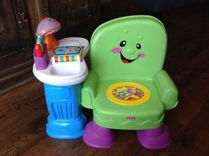 Fisher Price Laugh & Learn Story Chair: Francais