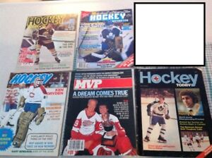 Vintage Hockey Magazines from the mid 70's and early 80's..see p