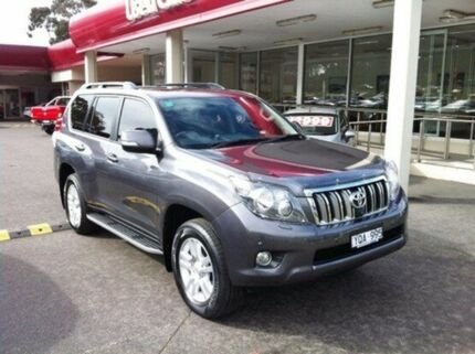 2011 Toyota Landcruiser Prado GRJ150R Kakadu Grey 5 Speed Sports Automatic Wagon