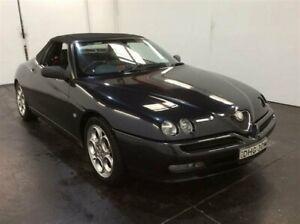 2002 Alfa Romeo Spider Grey 5 Speed Manual Convertible