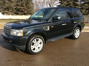 2006 Land Rover Range Rover Sport, HSE, 4X4, LEATHER, $11,500